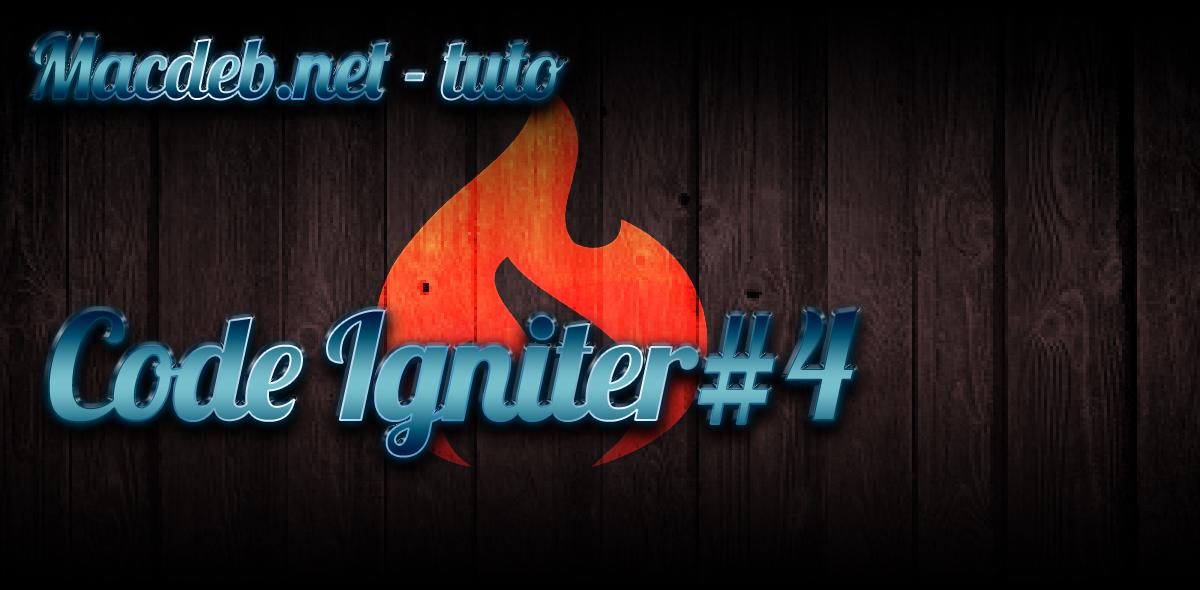 CodeIgniter 4 – Vos premières pages !